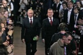 Russia's Putin Accepts Presidential Nomination