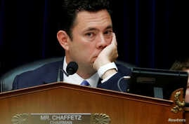FILE -  House Oversight and Government Reform Committee Chairman Jason Chaffetz (R-UT) listens to testimony  during a committee hearing about the private email server of Democratic presidential nominee Hillary Clinton, used during her tenure as Secre