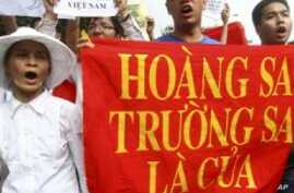 Vietnamese Stage Anti-China Protest