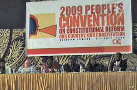 Scene at stakeholders' conference in July 2009 to prepare for Zimbabwe's constitutional process