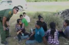 Border patrol agents detain most of the unaccompanied children that attempt to cross into the U.S.