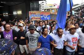 Youth activists in Yangon, including Thet Swe Win and Moe Thway, protest continuing civil war in Myanmar.
