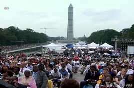 People Remember Historic 1963 March On Washington