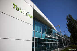 Tekmira Pharmaceuticals Corporation's head office is pictured in Burnaby, British Columbia Aug. 5, 2014.