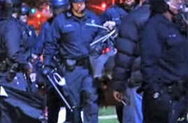 US Police Response to Protests Varies from City to City