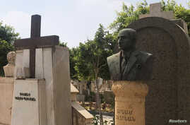 A general view of the Armenian cemetery in Cairo, Egypt, Sept. 16, 2018.