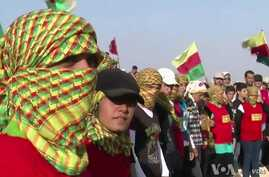 Syrian Conflict Gives Kurds New Freedom