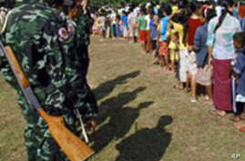 Thousands Flee Post-Election Fighting in Burma
