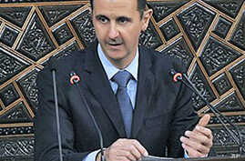 Syrian President Assad Vows to Defeat 'Plot'