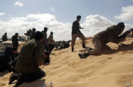 Libyan Rebels Move to Regain Lost Ground