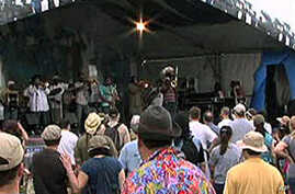 Annual festival in New Orleans honors the memory of jazz musicians who have passed on