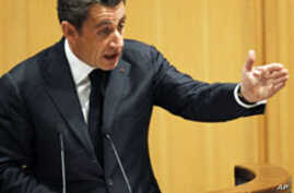 Sarkozy Calls on African Leaders to do Better or Risk Public Wrath