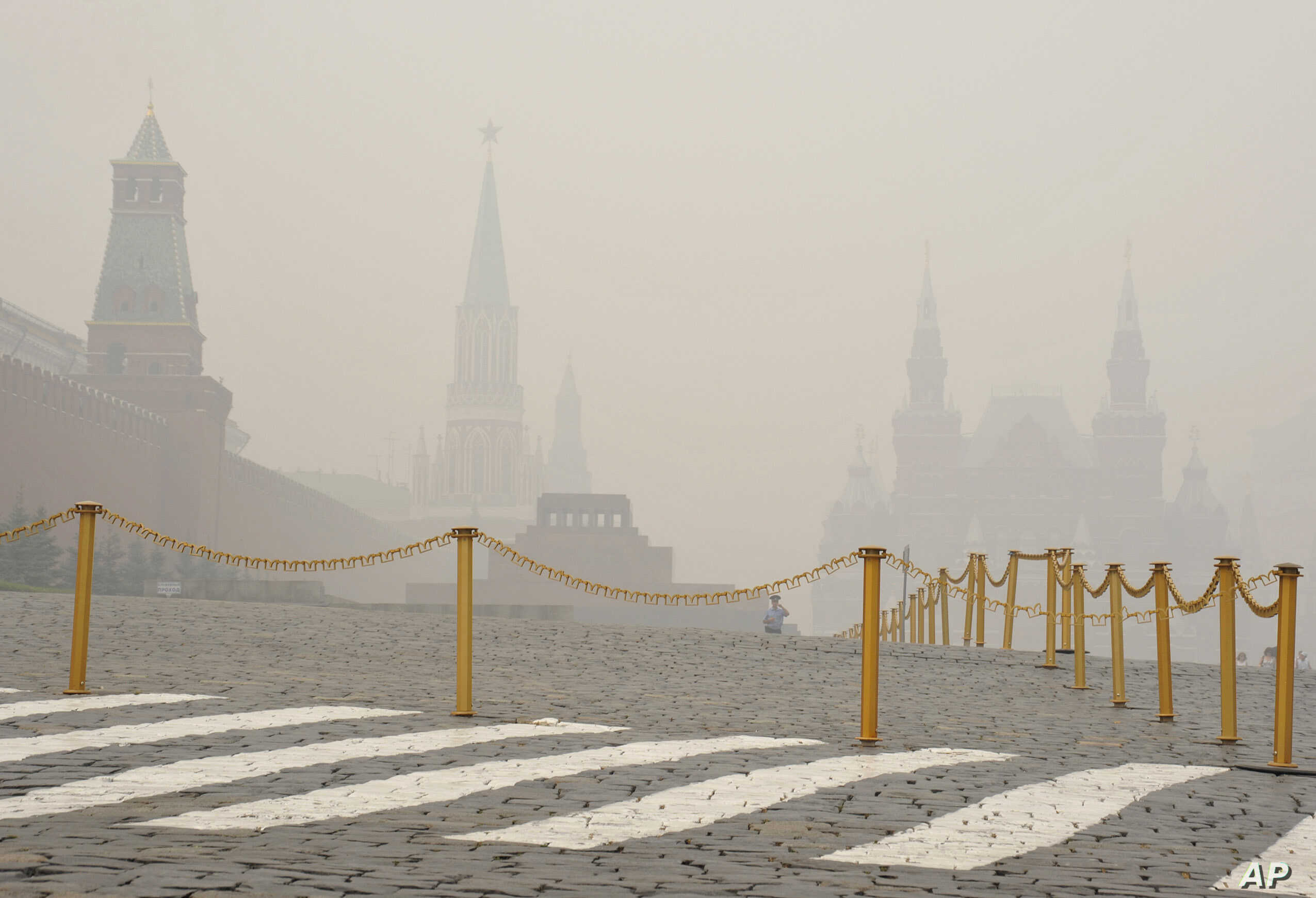 Moscow Struggles With Summer Smog