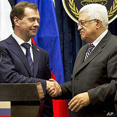 Russian President Visits West Bank