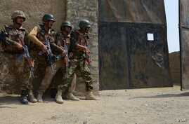 FILE - Pakistan army launches operation 'Zarb-e-Azb' in No