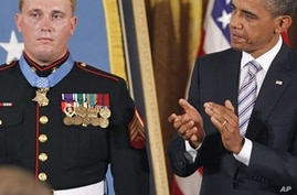 Obama Presents Medal of Honor to Iraq, Afghanistan War Veteran