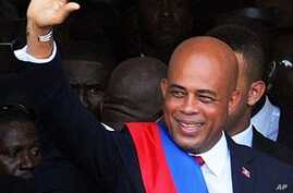 Former Pop Star Michel Martelly Inaugurated Haiti's 56th President