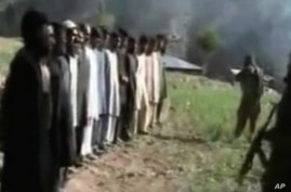 Pakistani Taliban Release Video of Police Execution