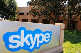 Skype offices in Palo Alto, California, May 2011.