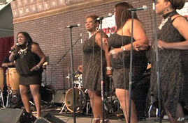 R&B was celebrated at the Smithsonian Folklife Festival on the National Mall.