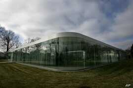 The Toledo Museum of Art's Glass Pavilion in Toledo, Ohio, is seen in a Dec. 24, 2006, photo. The museum houses an impressive collection of ancient and contemporary artifacts.