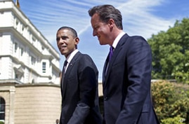Obama Trip to Britain Highlights His European Popularity