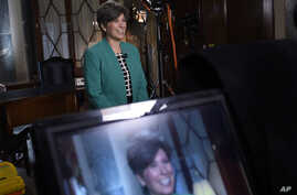 GOP Response ErnstaaRepublican Senator Joni Ernst of Iowa rehearses her remarks for the Republican response to President Obama's State of the Union address on Capitol Hill in Washington, Jan. 20, 2015.
