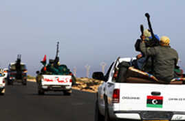 Libyan Rebels Move on Gadhafi's Hometown