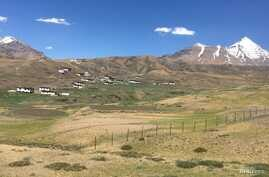Spiti Valley, a cold trans-Himalayan desert, located in northern India's Himachal Pradesh close to the border with TIbet, July 4, 2017..