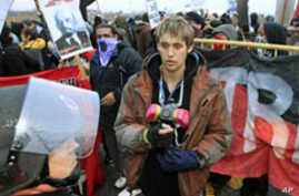 Occupy Protesters Target US, Canadian Ports