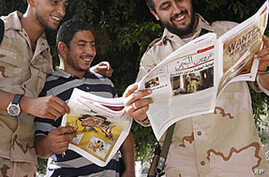 Independent Media Emerge in Tripoli After Fall of Gadhafi
