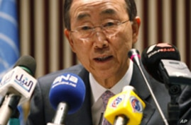 UN Secretary-General Hoping for Smooth Haiti Elections