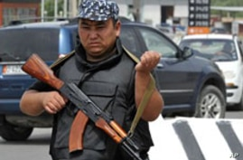 Kyrgyzstan Detains 10 in Security Sweeps Ahead of Presidential Elections
