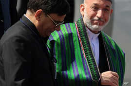 Amid Tensions With Pakistan, Karzai Visits India