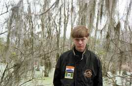 Dylann Storm Roof suspect for the shooting in Charleston.