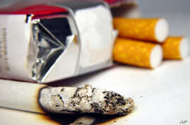 Liberia's ban is designed to check increased rates of tobacco use, health issues (file photo).