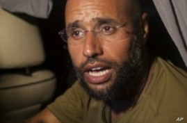 ICC Trying to Secure Surrender of Gadhafi Son, Spy Chief