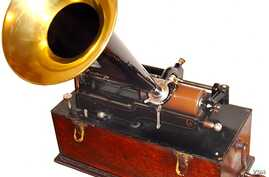 The phonograph, the first machine that could capture sound and play it back, was apparently Thomas Edison's favorite invention. He created it in 1877 and spent 50 more years perfecting it