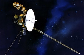 Voyager 1 is more than 11 billion miles away from Earth. Some researchers say it has left the Solar System, but that remains a topic of debate.