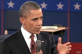 Obama Fights Back in Second Debate