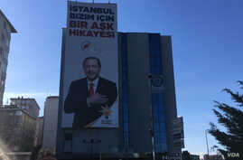 Turkish President Recep Tayyip Erdogan is not on the ballot box, but with his hometown of Istanbul too close to call for the first time in decades, he is leading his AK Party campaign.