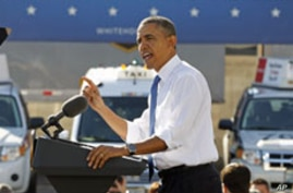 Obama Promotes Energy, Tax Proposals on Cross-Country Trip
