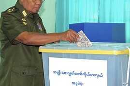 Pro-Military Party Claims Almost 80 Percent of Votes in Burma Election