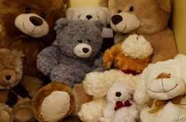 Soft toys are stacked in a room at the Teddy Bear Clinic, where abused children are treated. Citizens are demanding action after a teenager was gang-raped, sliced open from her stomach to her genitals, and left for dead on a construction site last we