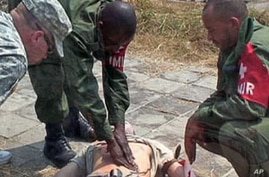 US Army Trains Congo Soldiers