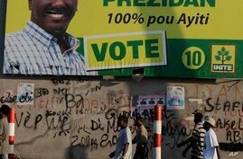 Haiti to Release Election Results Wednesday, 2nd Round Set for March