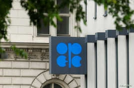 The logo of the Organization of the Petroleum Exporting Countries (OPEC) is pictured at its headquarters in Vienna, Austria, May 30, 2016.