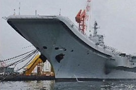 Chinese Media Minimizes Military Value of Aircraft Carrier