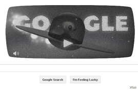 Today's Google Doodle Celebrates the 66th anniversary of the Roswell UFO incident (Courtesy: Google)