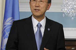 UN Chief says Bin Laden Death a Watershed Moment